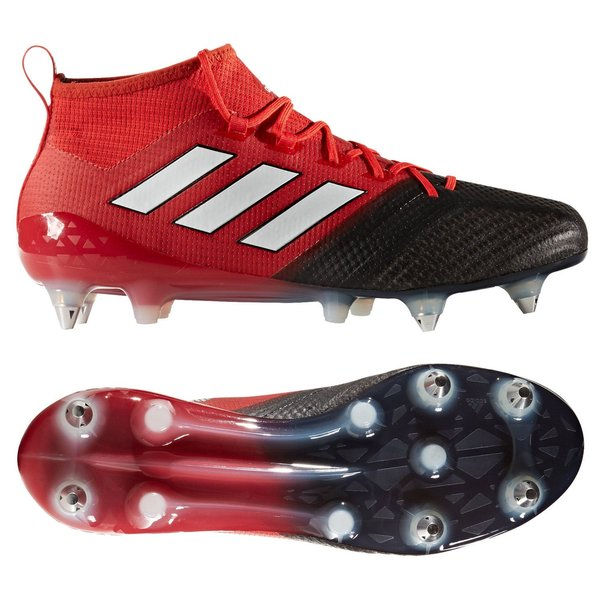 the best attitude afe5c 15051 adidas ACE 17.1 Primeknit SG Red Limit - Red/Feather White ...