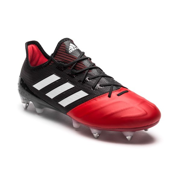 super popular f21ba e25d2 adidas ACE 17.1 Leather SG Red Limit - Core Black/Feather ...