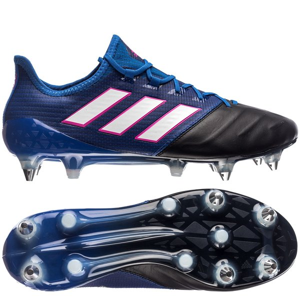 da5121fda ... uk adidas ace 17.1 skind sg blue blast blå hvid sort a8952 f5180