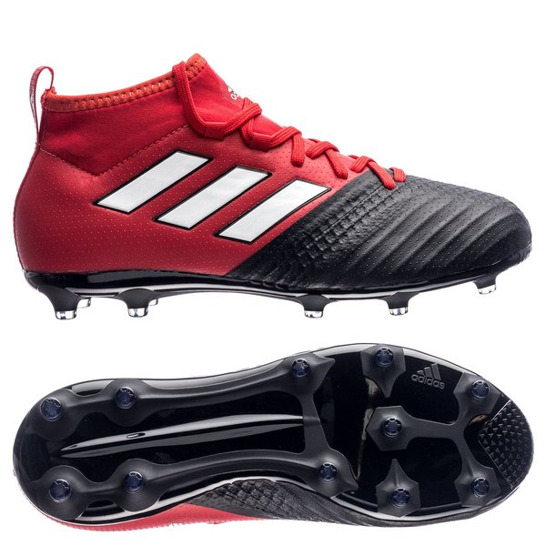 89d21e17e14d3 adidas ACE 17.1 FG AG Red Limit - Rouge Blanc Noir Enfant 0