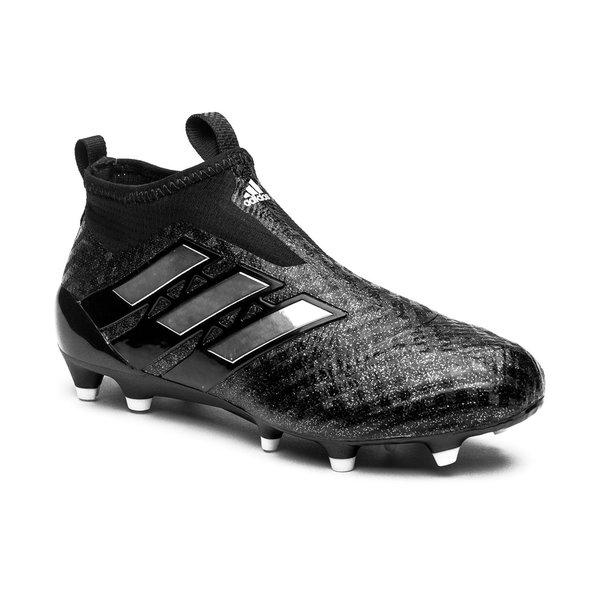 adidas ACE 17+ PureControl FGAG Chequered Black SortHvit Barn