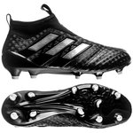 adidas ACE 17+ PureControl FG/AG Chequered Black - Sort/Hvid Børn