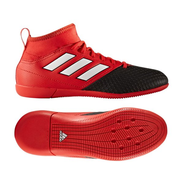 various colors picked up super cute adidas ACE 17.3 Primemesh IN Red Limit - Red/Feather White/Core Black Kids