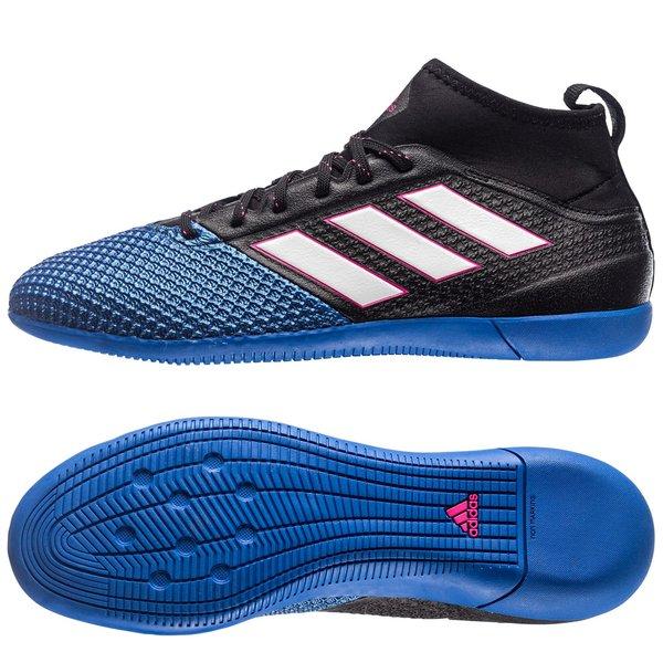 adidas ACE 17.3 Primemesh IN Blue Blast SchwarzWeißBlau