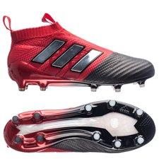 adidas ACE 17+ PureControl Boost FG/AG Red Limit - Rouge/Blanc/Noir