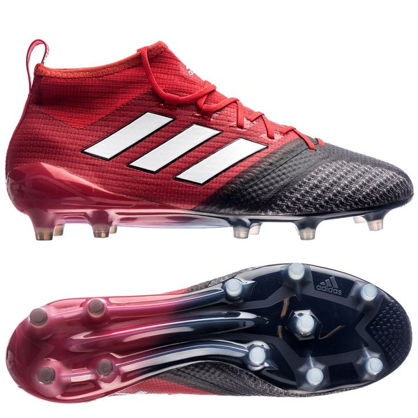 adidas ACE 17.1 Primeknit FG AG Red Limit - Red Feather White Core ... 2ad98eb825a5