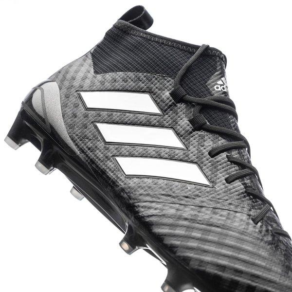 adidas ACE 17.1 Primeknit FGAG Chequered Black SortHvit