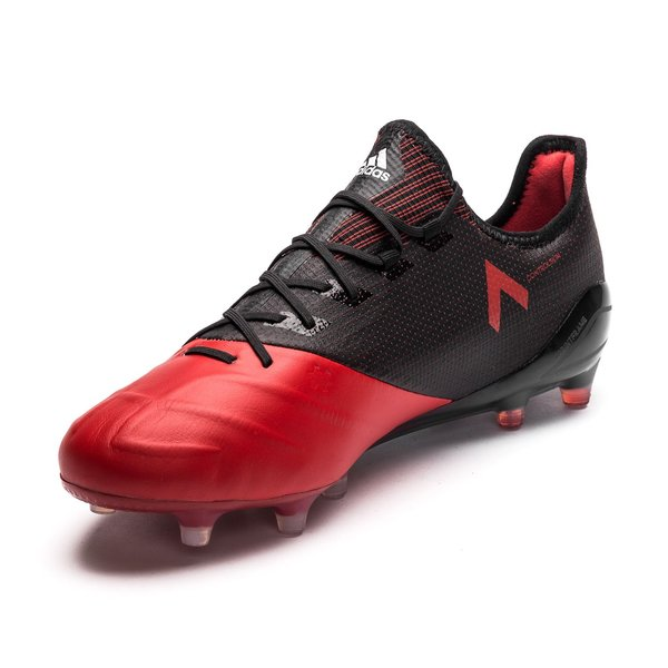 adidas ACE 17.1 Leather FG AG Red Limit - Core Black Feather White ... f550198681e0