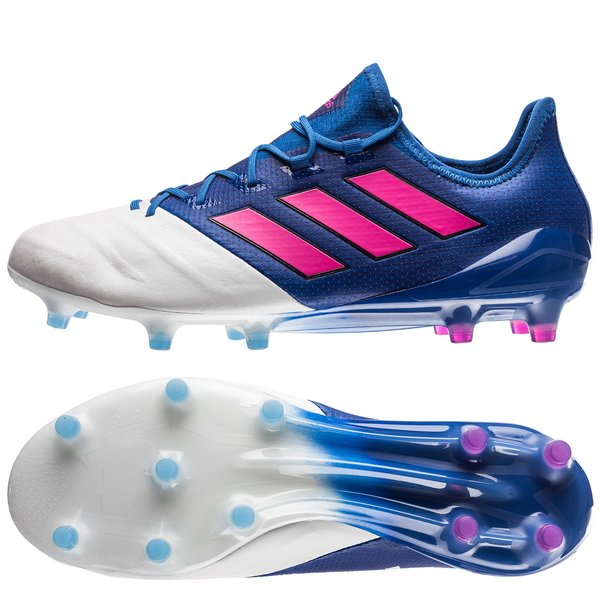 6f5711c4d8b1 adidas ACE 17.1 Leather FG AG Blue Blast - Blue Shock Pink Feather ...