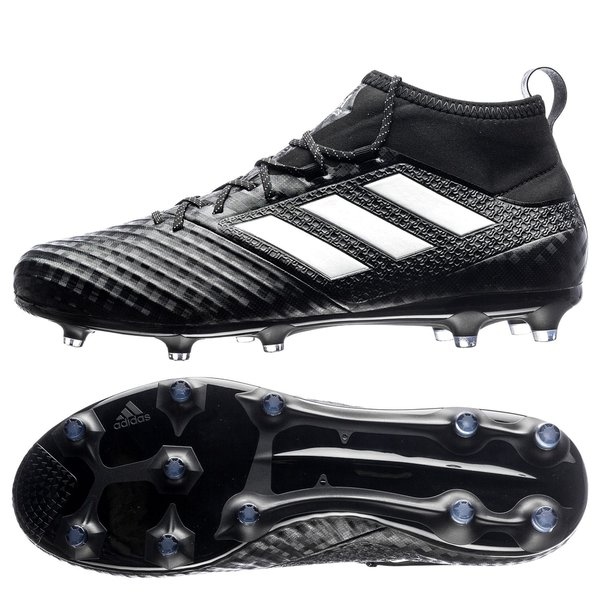 adidas ACE 17.2 Primemesh FG/AG Chequered Black - Core Black/Feather White