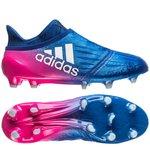 adidas X 16+ PureChaos FG/AG Blue Blast - Bleu/Blanc/Rose