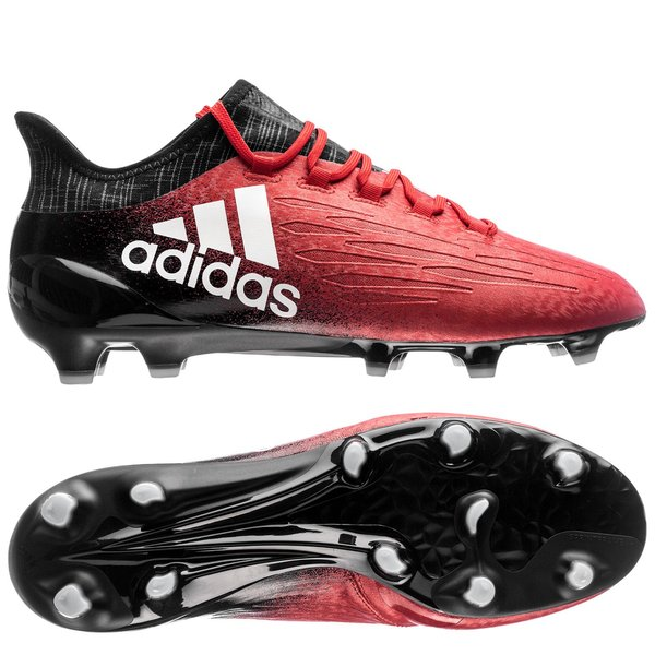 e9e068d8c650a8 adidas X 16.1 FG AG Red Limit - Red White Core Black