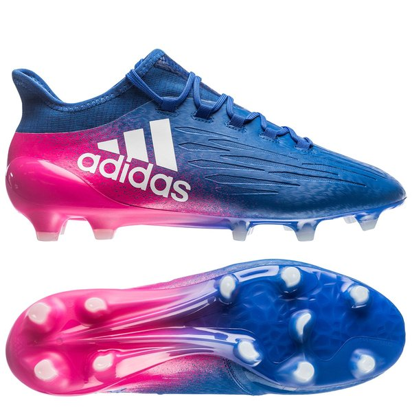 2a330661a8a adidas X 16.1 FG AG Blue Blast - Blue White Shock Pink. Read more about the  product. - football boots. - football boots image shadow