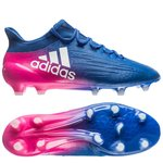 adidas X 16.1 FG/AG Blue Blast - Blå/Hvid/Pink
