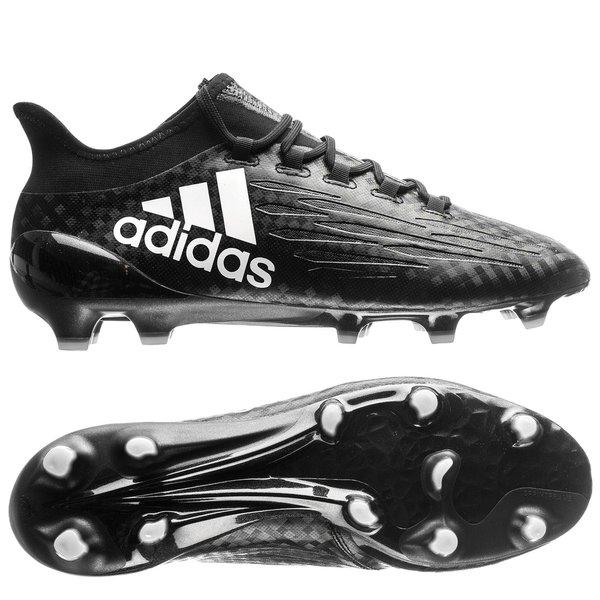 adidas X 16.1 FGAG Chequered Black SortHvit