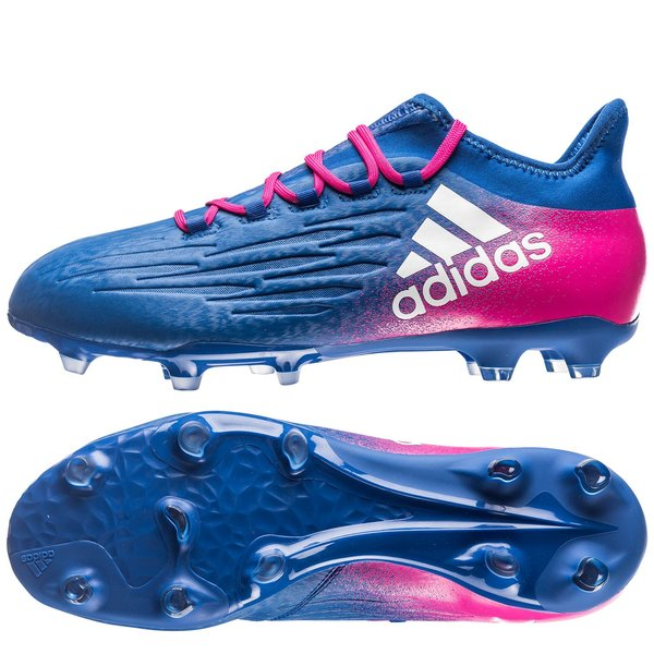 90cd11c7c4f 130.00 EUR. Price is incl. 19% VAT. -40%. adidas X 16.2 FG AG Blue Blast -  Blue White Shock Pink