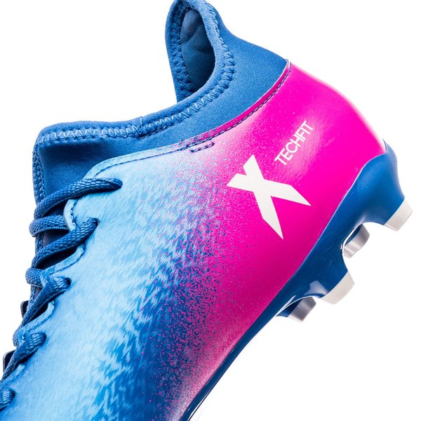 adidas X 16.3 IN Blue Blast BlåHvidPink