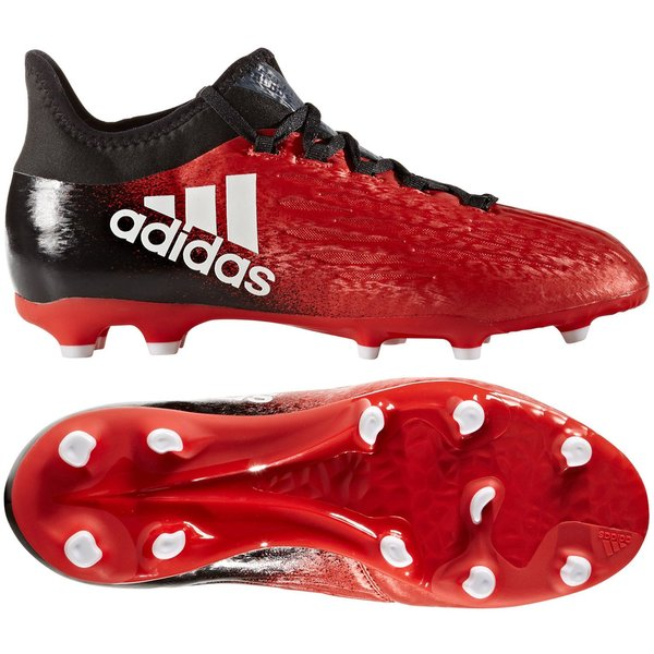 adidas X 16.1 FGAG Red Limit RødHvitSort Barn