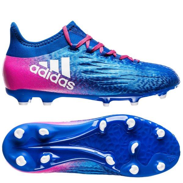 adidas X 16.1 Pink, Blå Kunstgræs (AG), Græs (FG) Mænd