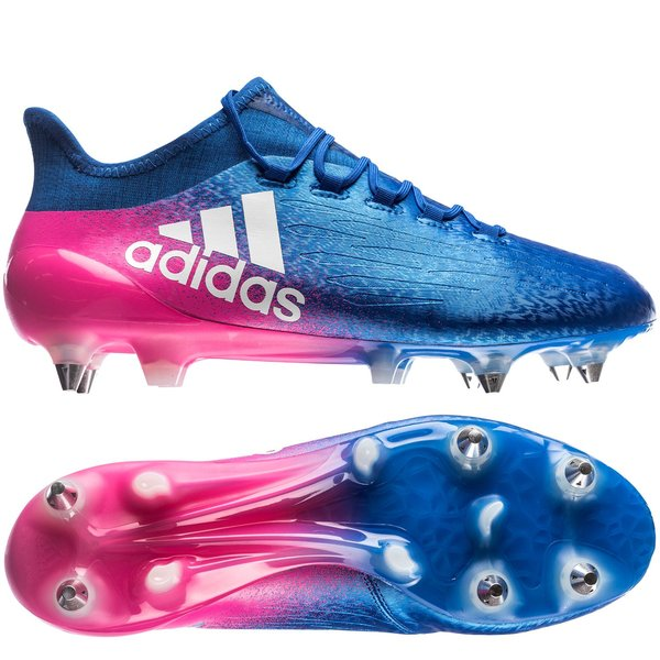 c9c0f7a0662 adidas X 16.1 Blue Blast SG FG - Blue White Shock Pink. Read more about the  product. - football boots. - football boots image shadow