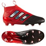 adidas ACE 17+ PureControl FG/AG Red Limit - Red/Feather White/Core Black Kids