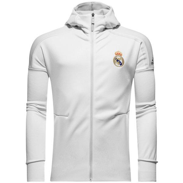 Veste à capuche Real Madrid Blanc