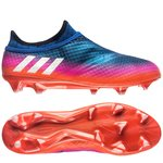adidas Messi 16+ PureAgility FG/AG Blue Blast - Blue/Feather White/Core Black Kids