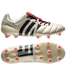 adidas Predator Mania FG Champagne - Off White/Core Black/Red LIMITED EDITION