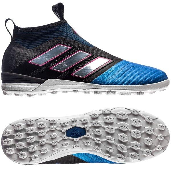 low priced 806d9 af6c2 adidas ACE Tango 17+ PureControl TF Blue Blast - Sort Hvit Blå 0
