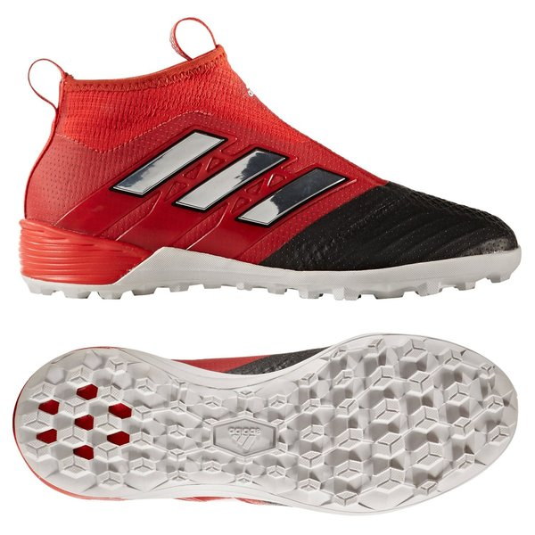 adidas ACE Tango 17+ PureControl TF Red Limit RødHvitSort Barn