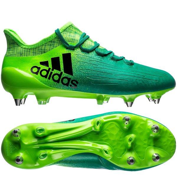 adidas x 16.1 sg turbocharge - solar green core black - football boots ... c88f77cdf