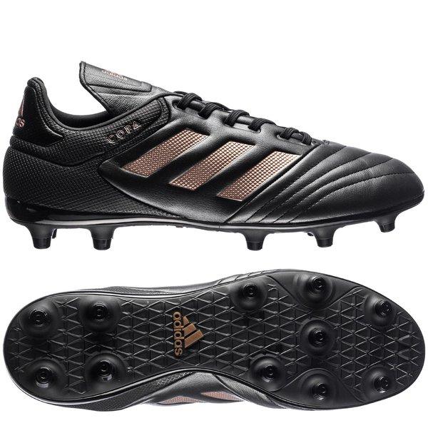 18ba2d01ae99 adidas copa 17.3 fg ag turbocharge - core black copper metallic - football  boots ...