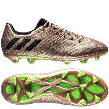 adidas Messi 16.1 FG/AG Turbocharge - Koper/Zwart/Groen Kinderen