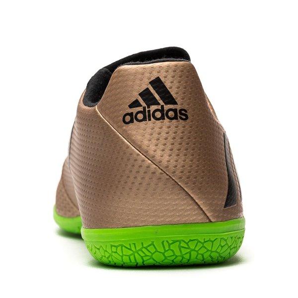 fe8df4ae6 adidas Messi 16.3 IN Turbocharge - Copper Metallic Core Black Solar Green