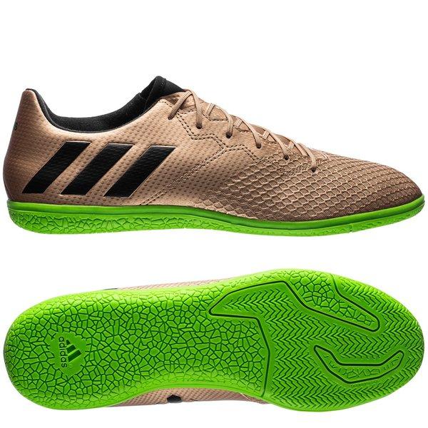 49e54b8a5 adidas Messi 16.3 IN Turbocharge - Copper Metallic Core Black Solar ...