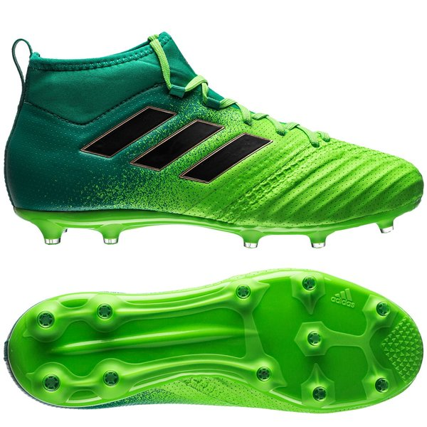 01695968688e adidas ACE 17.1 FG AG Turbocharge - Solar Green Core Black Kids ...