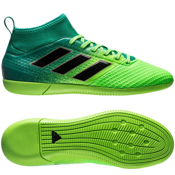 ac9c25cdcc03 adidas ace 17.3 primemesh in turbocharge - solar green core black - indoor  shoes ...