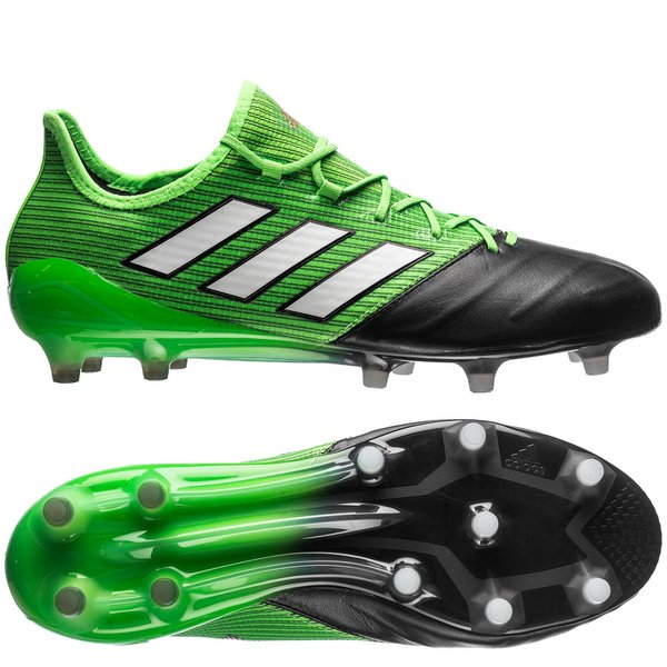 the best attitude 7f502 26bbe adidas ACE 17.1 Leather FG AG Turbocharge - Solar Green Feather ...