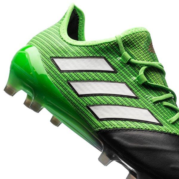size 40 8672d f4635 adidas ACE 17.1 Leather FG/AG Turbocharge - Solar Green ...
