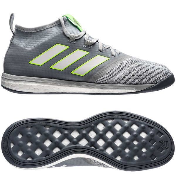 5284147af46d adidas ACE Tango 17.1 Trainer Street Turbocharge - Clear Onix Feather  White Solar Green