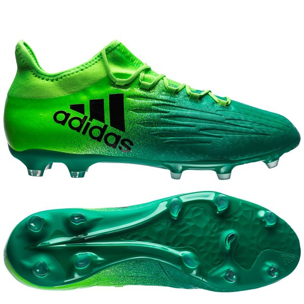Destilar neumonía Enlace  adidas X 16.2 FG/AG Turbocharge - White/Core Black/Green |  www.unisportstore.com
