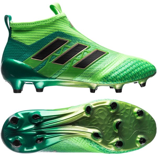 hot sale online 87214 026f8 adidas ace 17+ purecontrol fgag turbocharge - solar greencore black kids  ...