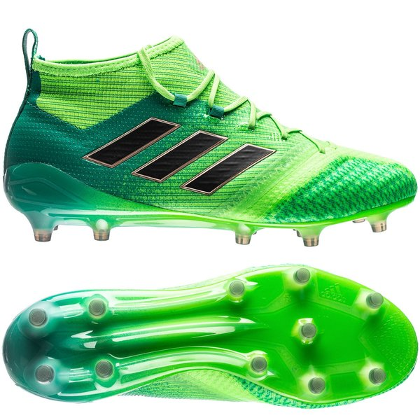 official photos 31a34 b351b adidas ace 17.1 primeknit fgag turbocharge - solar greencore black -  football ...