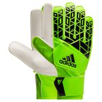adidas Goalkeeper Gloves ACE Junior Turbocharge - Solar Green/Black Kids