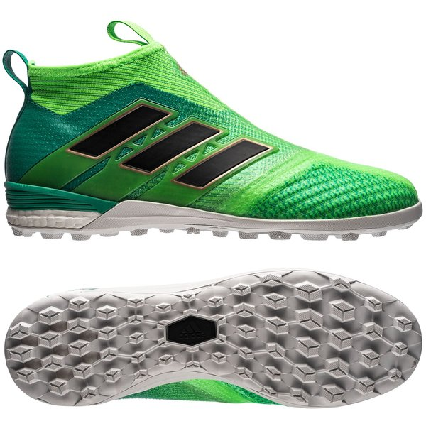 new styles 03c88 79d94 adidas ace tango 17+ purecontrol tf turbocharge - vertnoir - chaussures de  football ...