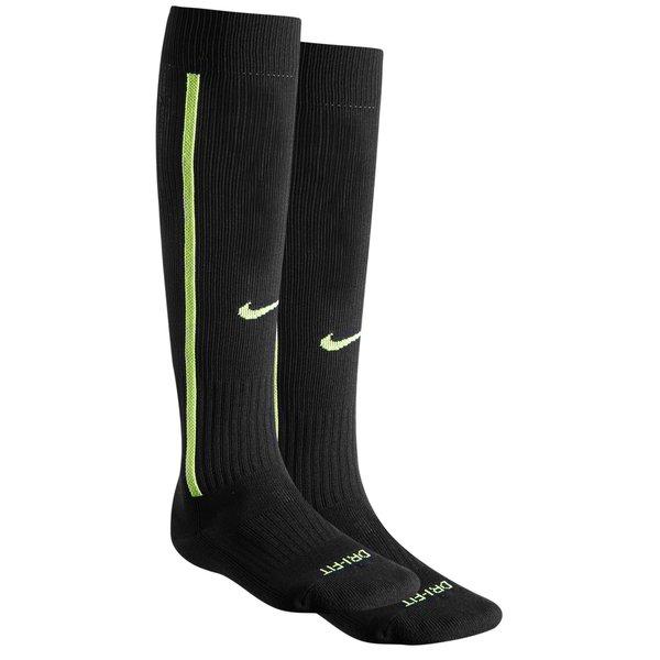 7103d76588f Nike Chaussettes de Football Vapor III - Noir Jaune Fluo 0