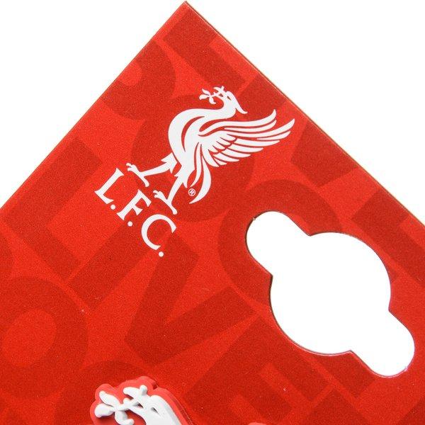 Liverpool Kühlschrankmagnet Logo 3D