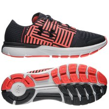 under armour running shoe speedform gemini 3 - black/red/white - running shoes