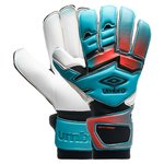 Umbro Goalkeeper Gloves Neo Pro Rollfinger Cut - Bluebird/Grenadine/Black