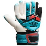 Umbro Goalkeeper Gloves Neo Pro Shotgun Cut - Bluebird/Grenadine/Black
